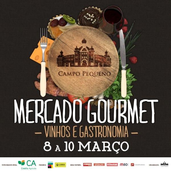 Cartaz Mercado Gourmet 2019