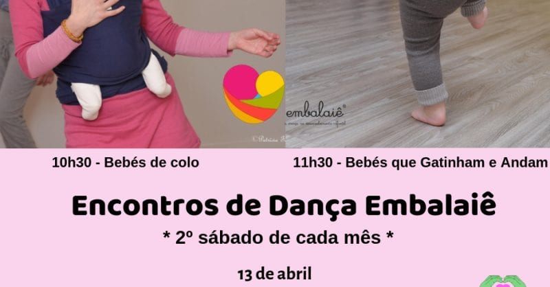 Encontros de Dança Embalaiê para Bebés