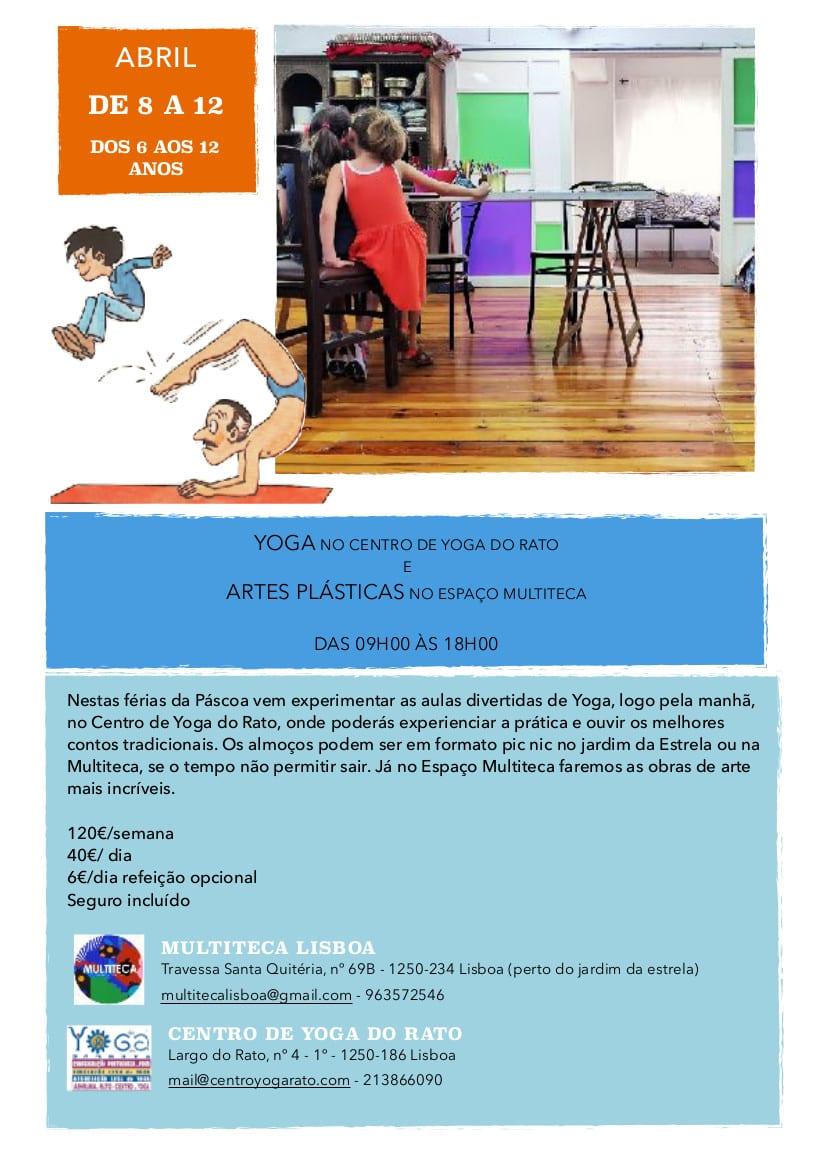 Yoga e Artes Plásticas