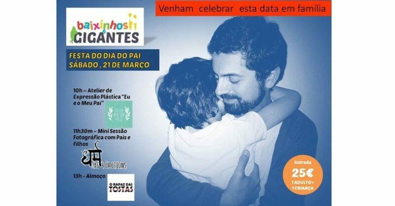 Festa do Dia do Pai – Baixinhos & Gigantes
