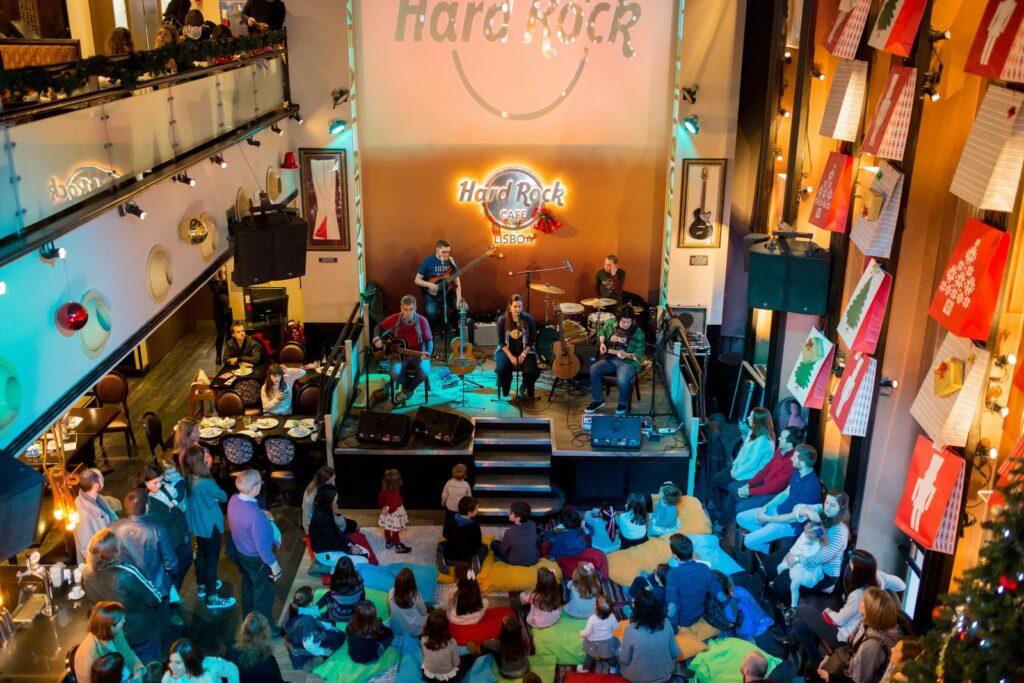 Concertos Infantis no Hard Rock Cafe Lisboa