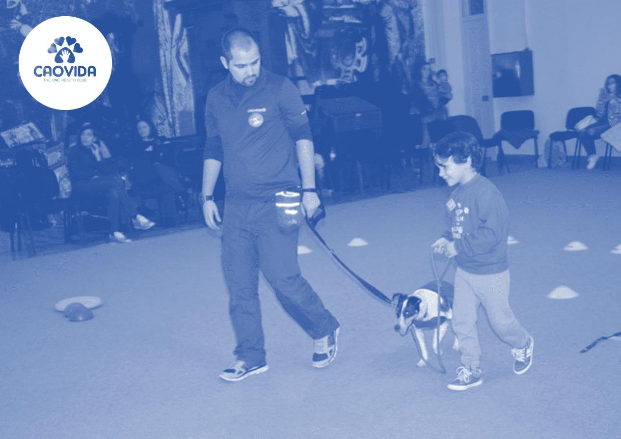 Baby gym – sessão de exercício físico e interação com cães no Porto