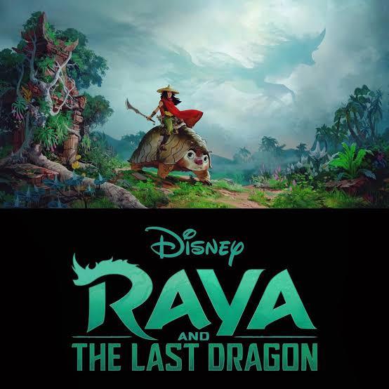 Raya and the Last Dragon filmes de animação 2020