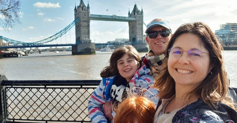 O que visitar em Londres - Tower Bridge - familia