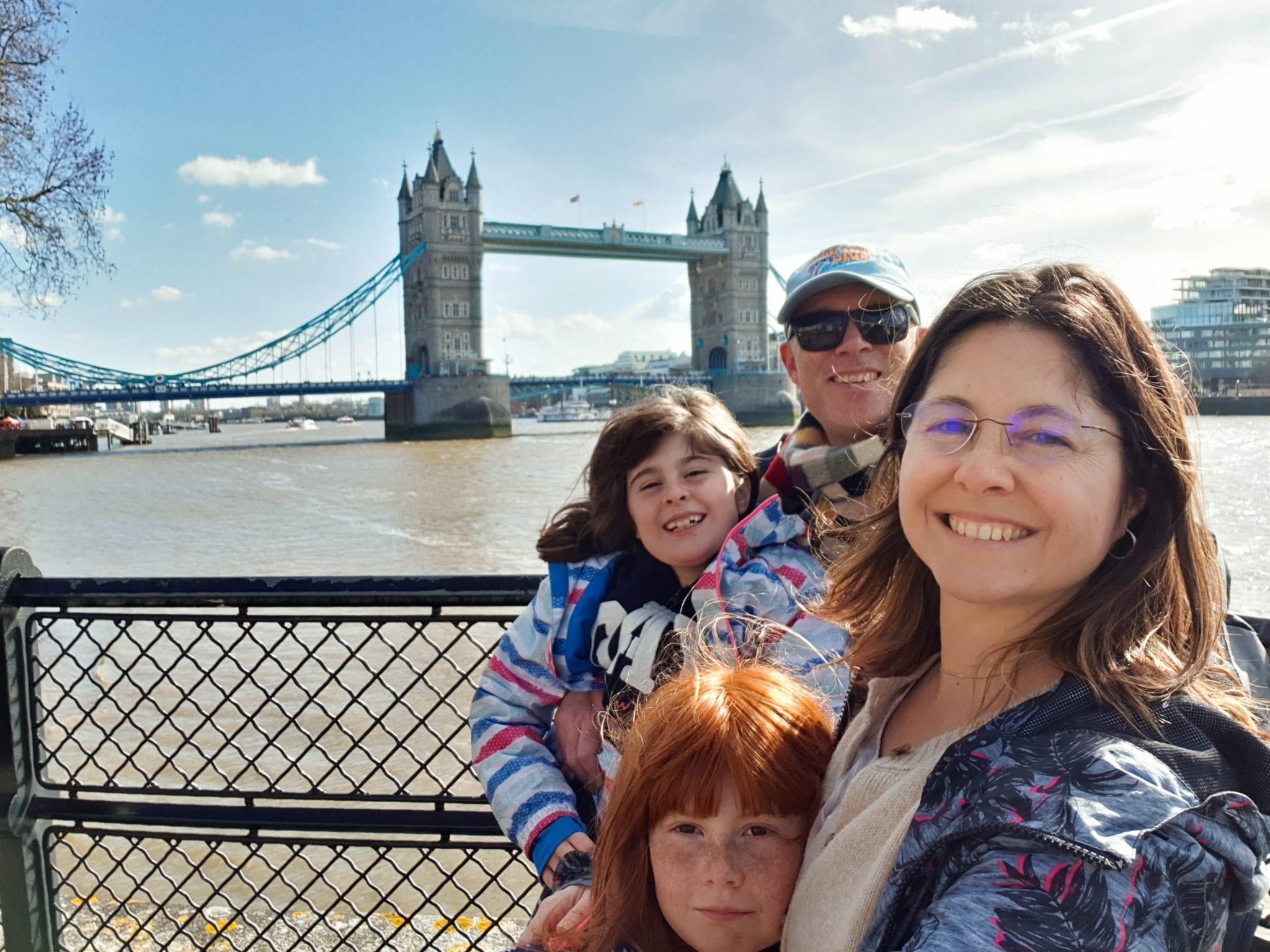 O que visitar em Londres - Tower Bridge - familia