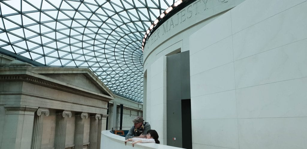 O que visitar em Londres britanic museum - museu britanico