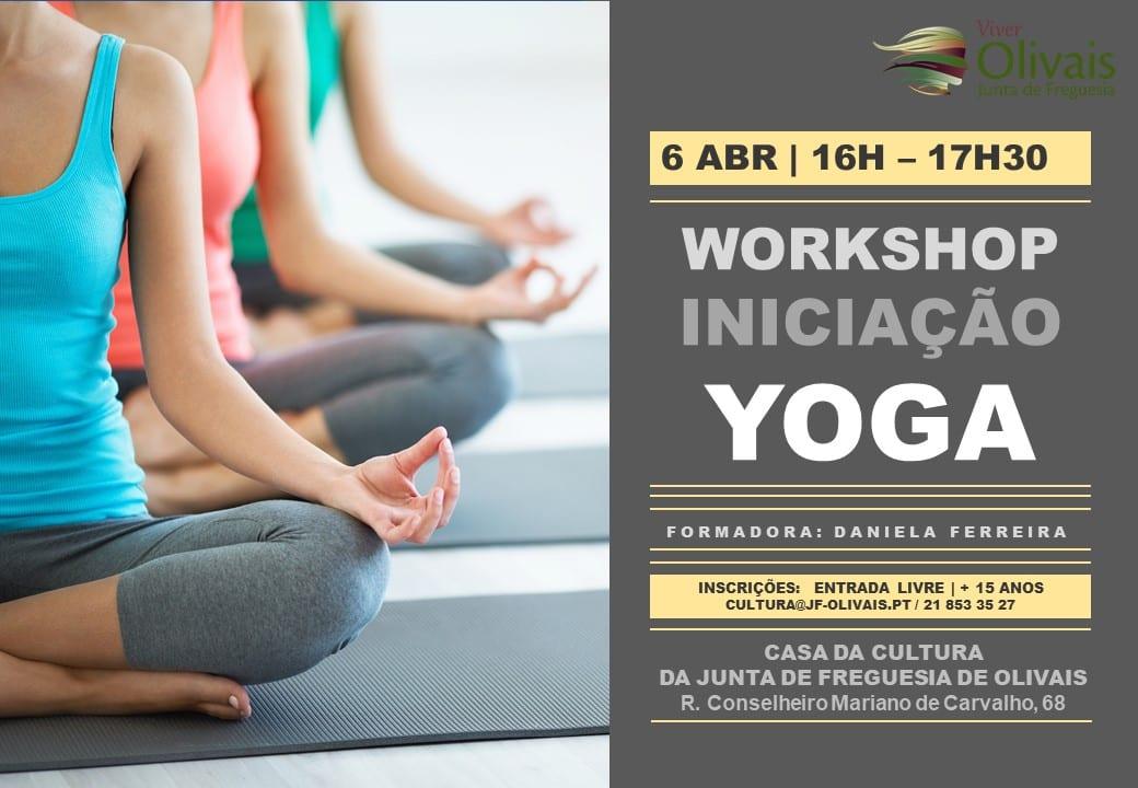 Workshop iniciação ao Yoga