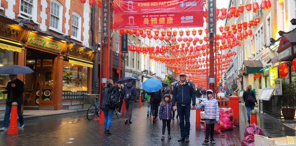 O que fazer em Londres - passear e comer em chinatown
