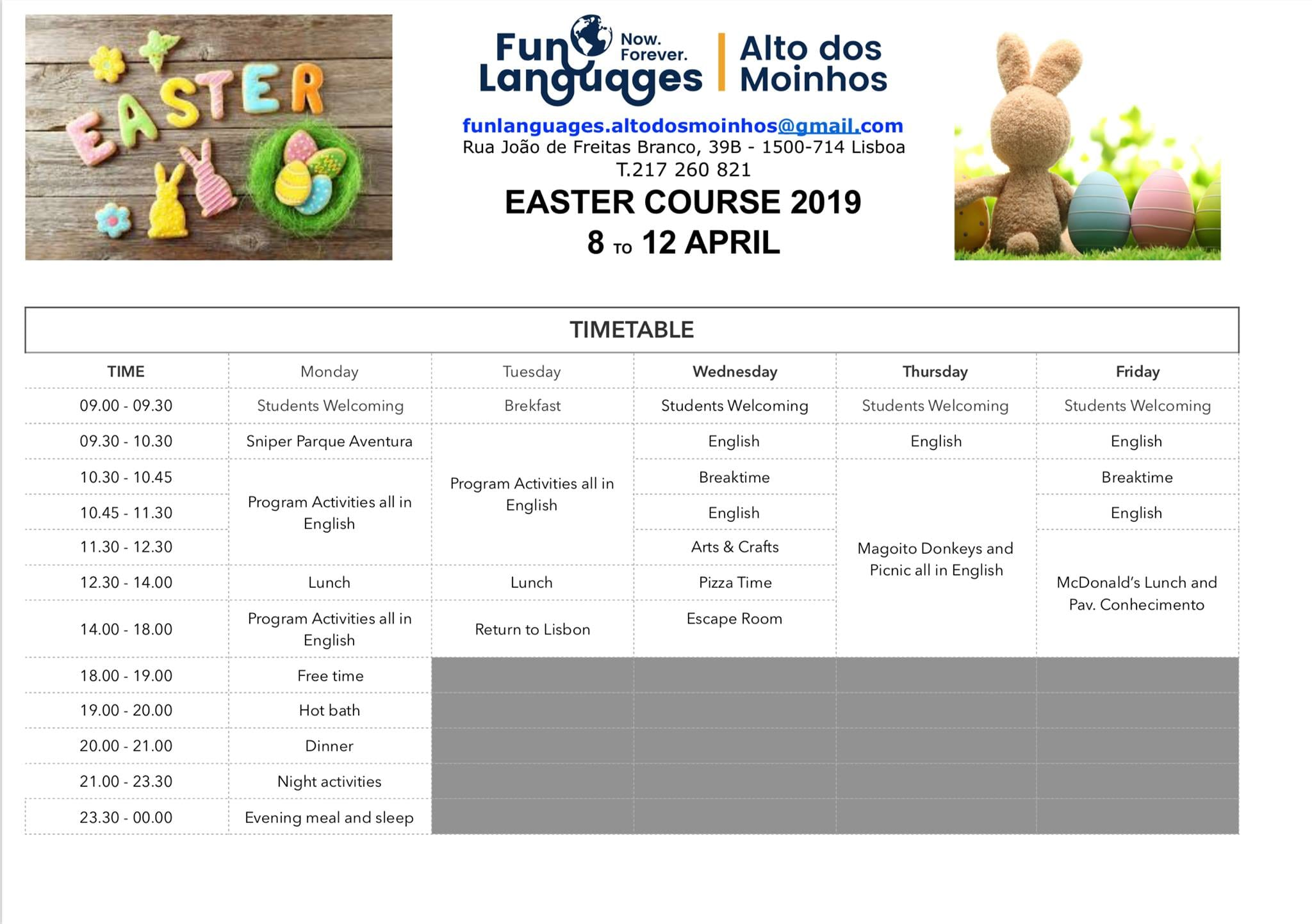 esater course