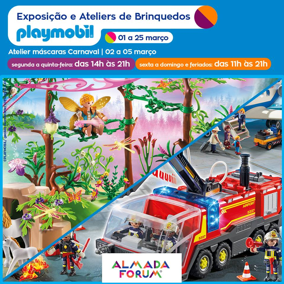 Forum Almada - Playmobil