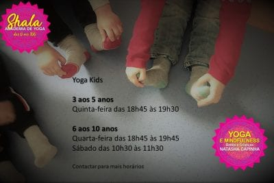 Aulas de Yoga Kids