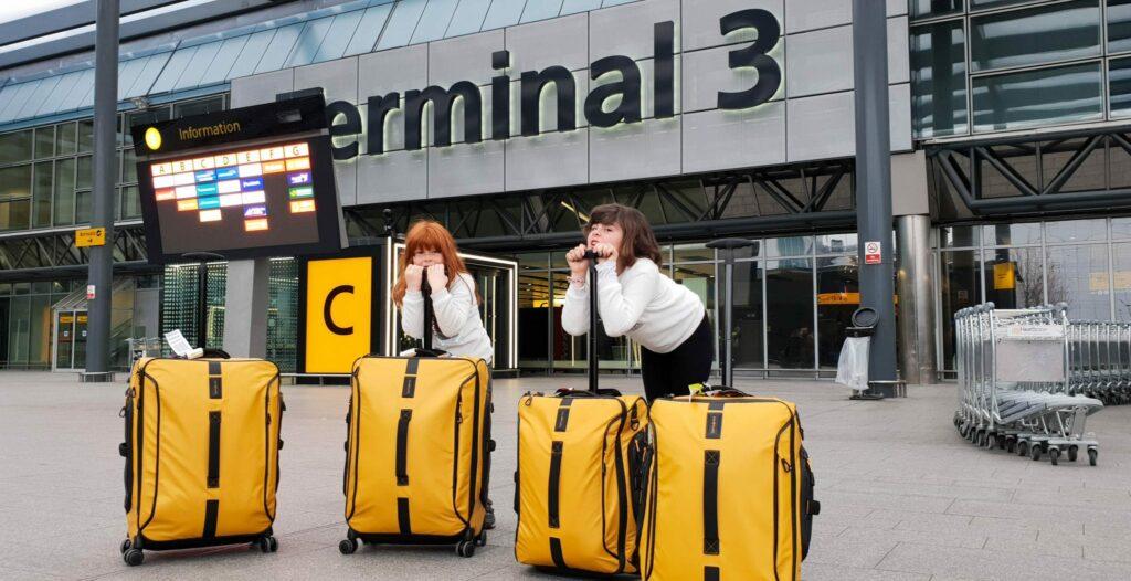 dicas para viajar com crianças - malas