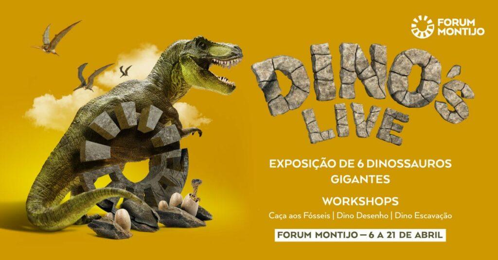 Dinossauros no Forum Montijo