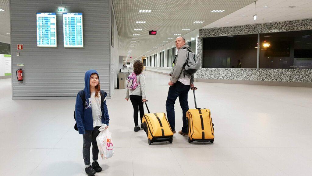 tempo - dicas para viajar com crianças