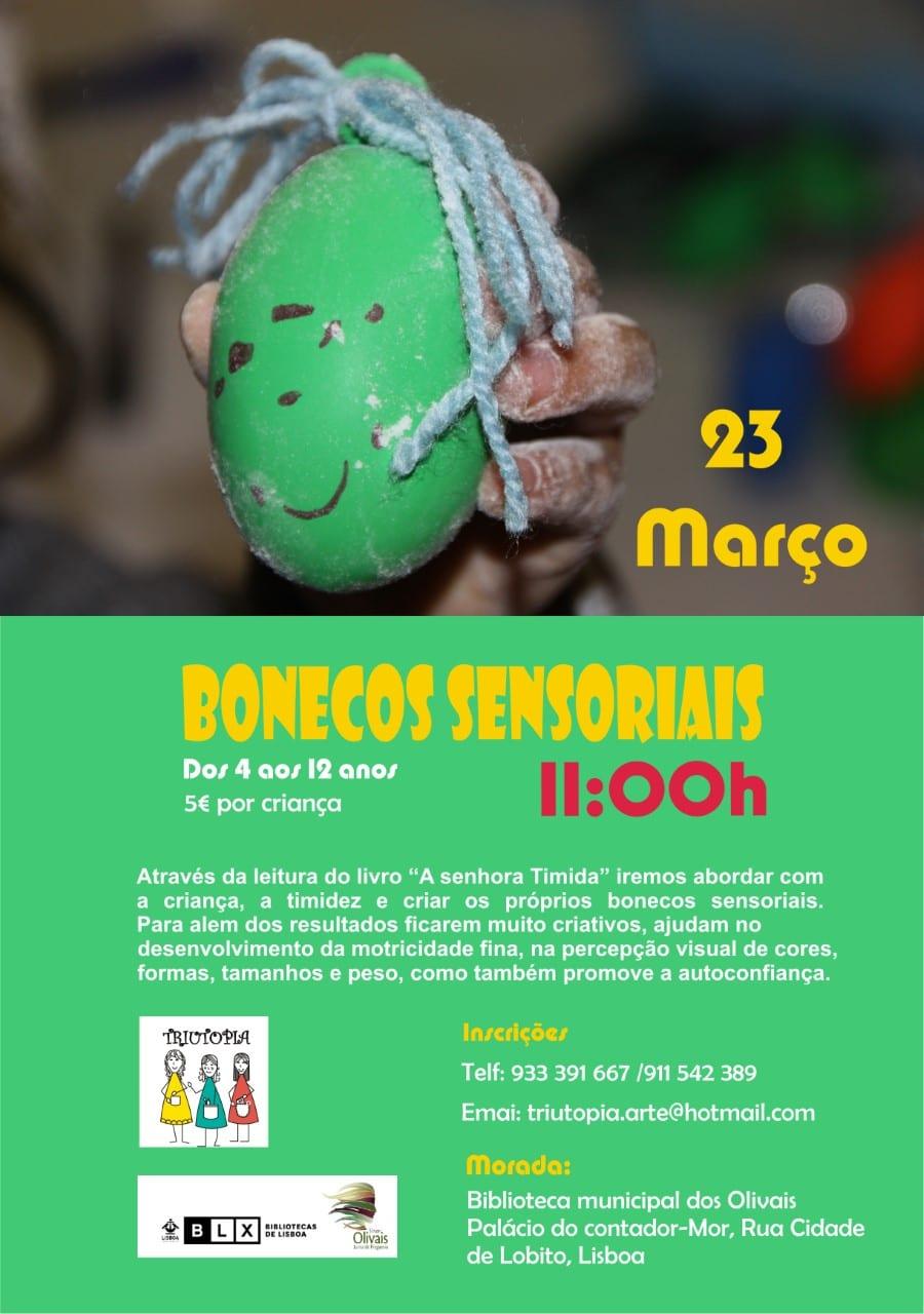 Atelier Bonecos Sensoriais