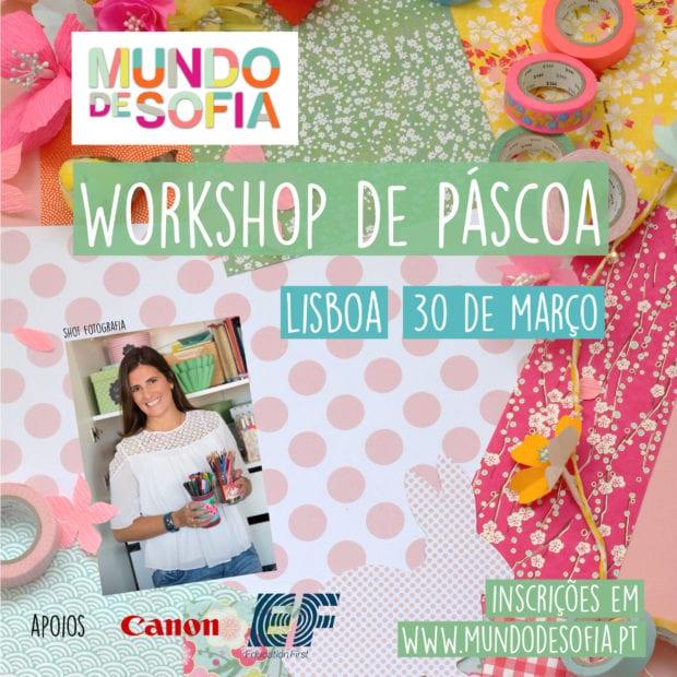 Workshop Páscoa Mundo de Sofia