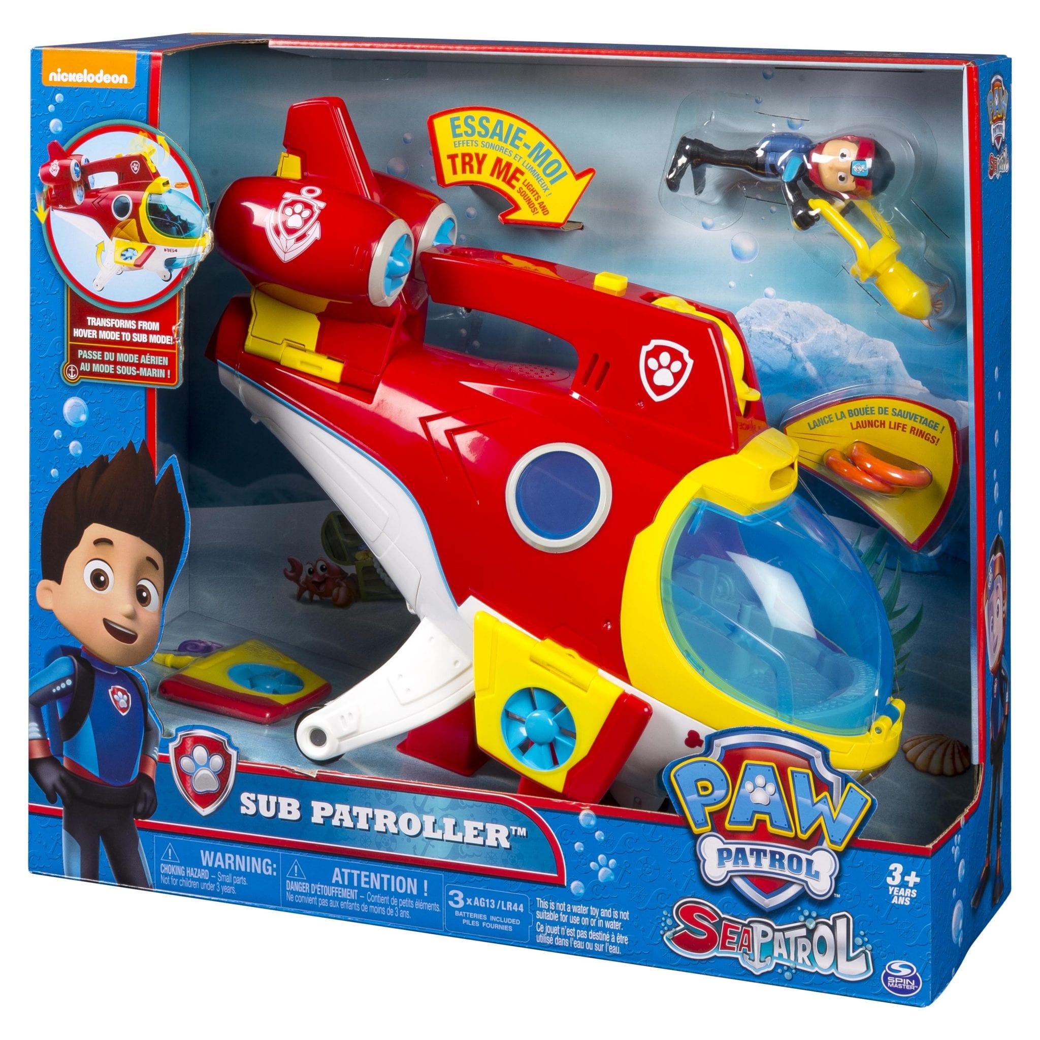 110677_Paw Patrol - Submarino