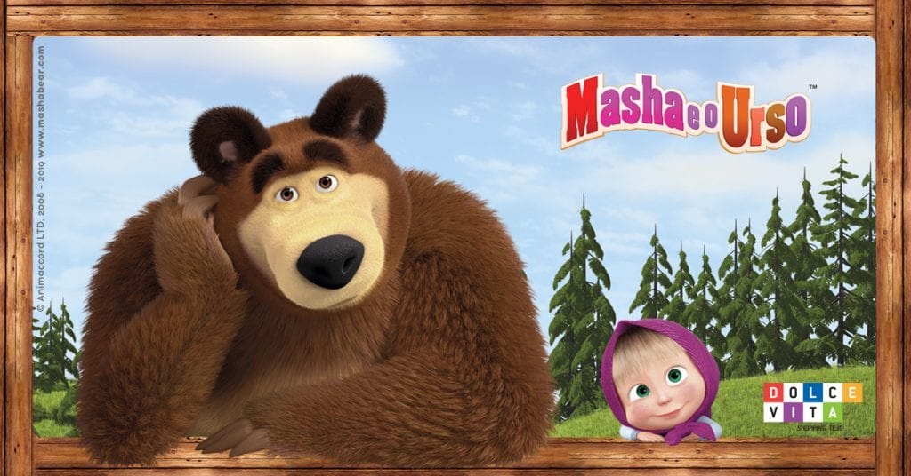 Dolce Vita Tejo Masha e o Urso
