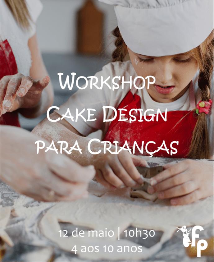 Workshop Cake Design para Crianças