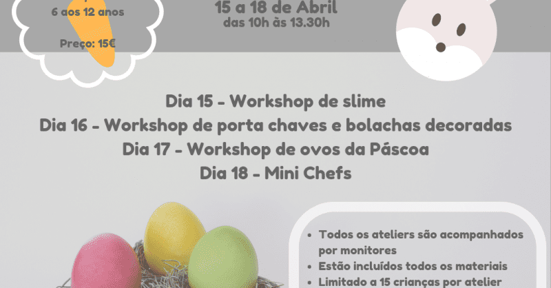 Ateliers da Páscoa – Caramela Parties