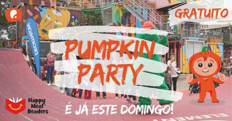 Pumpkin Party 2019: Venham celebrar em família connosco!