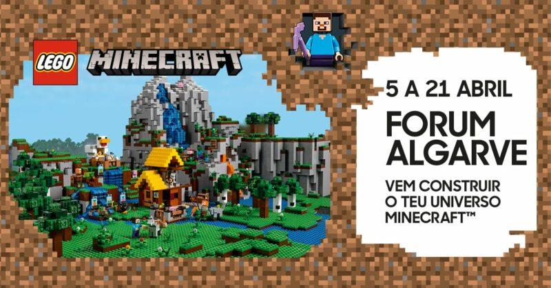 Forum Algarve recebe evento único da LEGO® Minecraft
