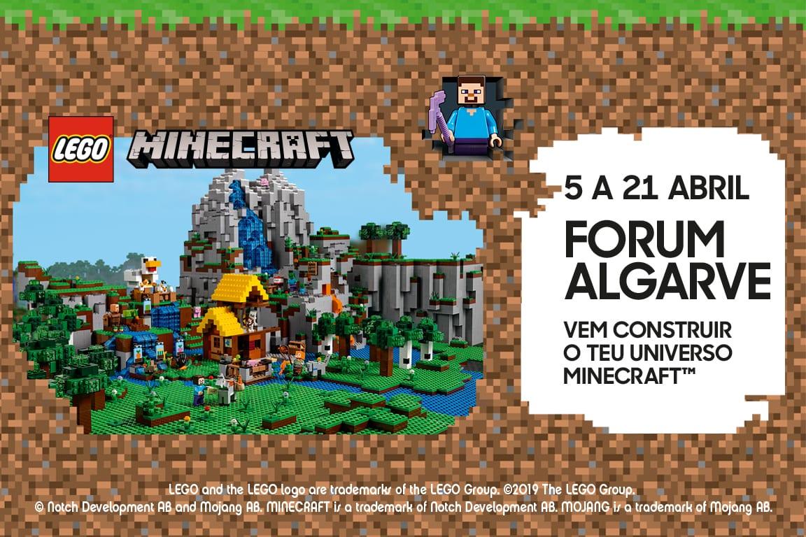 FORUM ALGARVE RECEBE EVENTO ÚNICO DA LEGO ® MINECRAFT