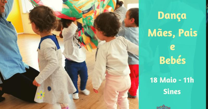 Workshop – Dança para Mães, Pais e Bebés em Sines