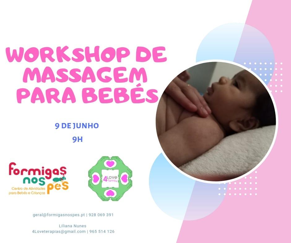 Workshop de Massagem para Bebés