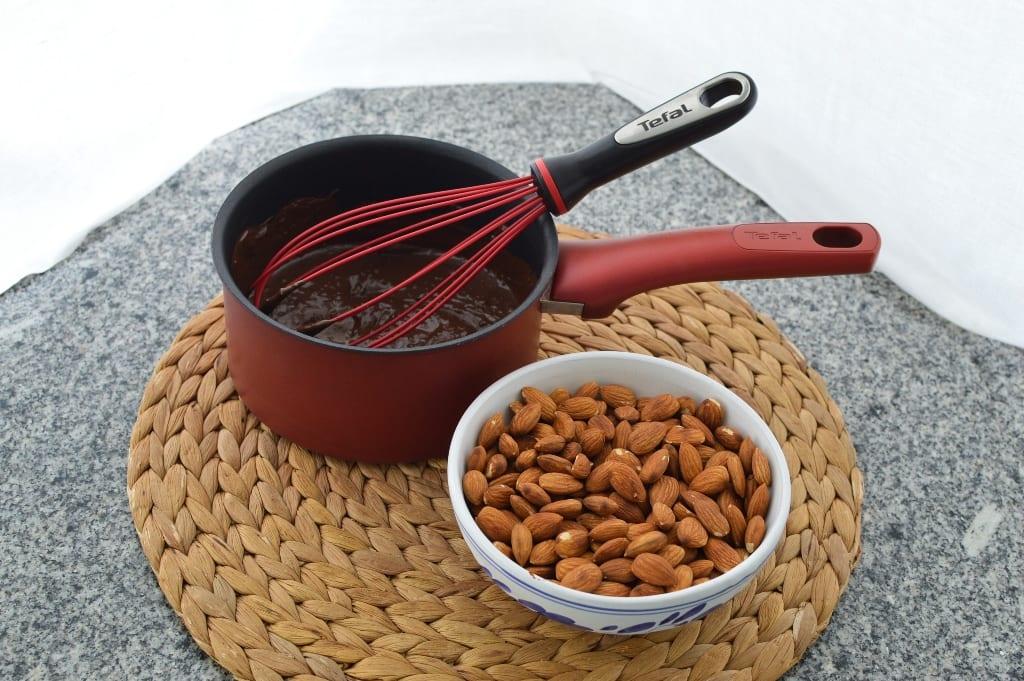 amêndoas de Páscoa - chocolate