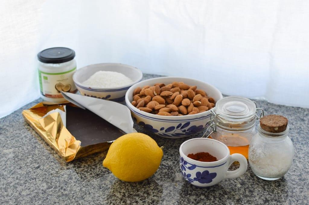 amêndoas da páscoa - ingredientes