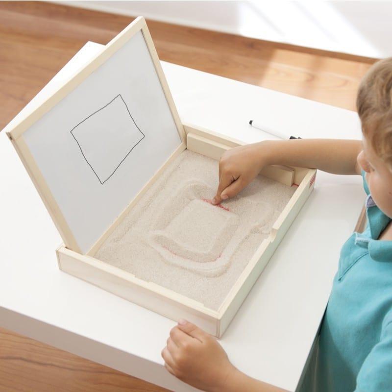 caixa montessori