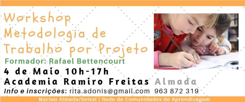Workshop Metodologia de Trabalho por Projeto