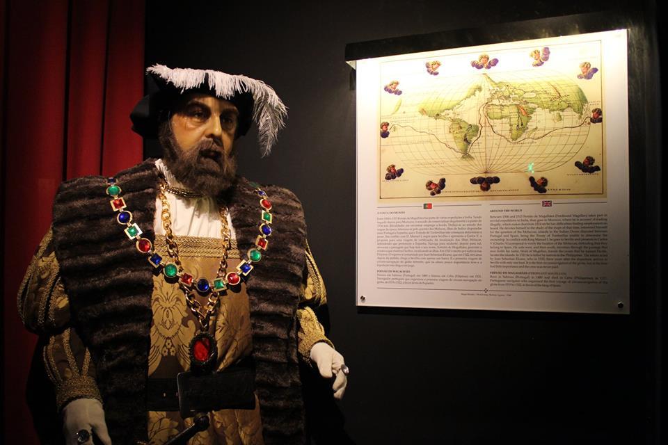 museu de cera dos descobrimentos
