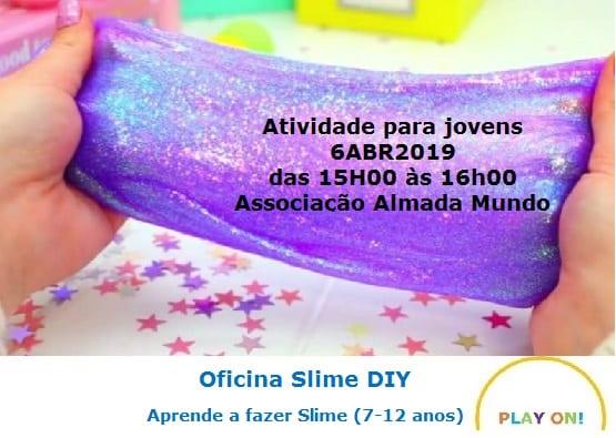 Oficina Crianças & Jovens | Slime DIY!