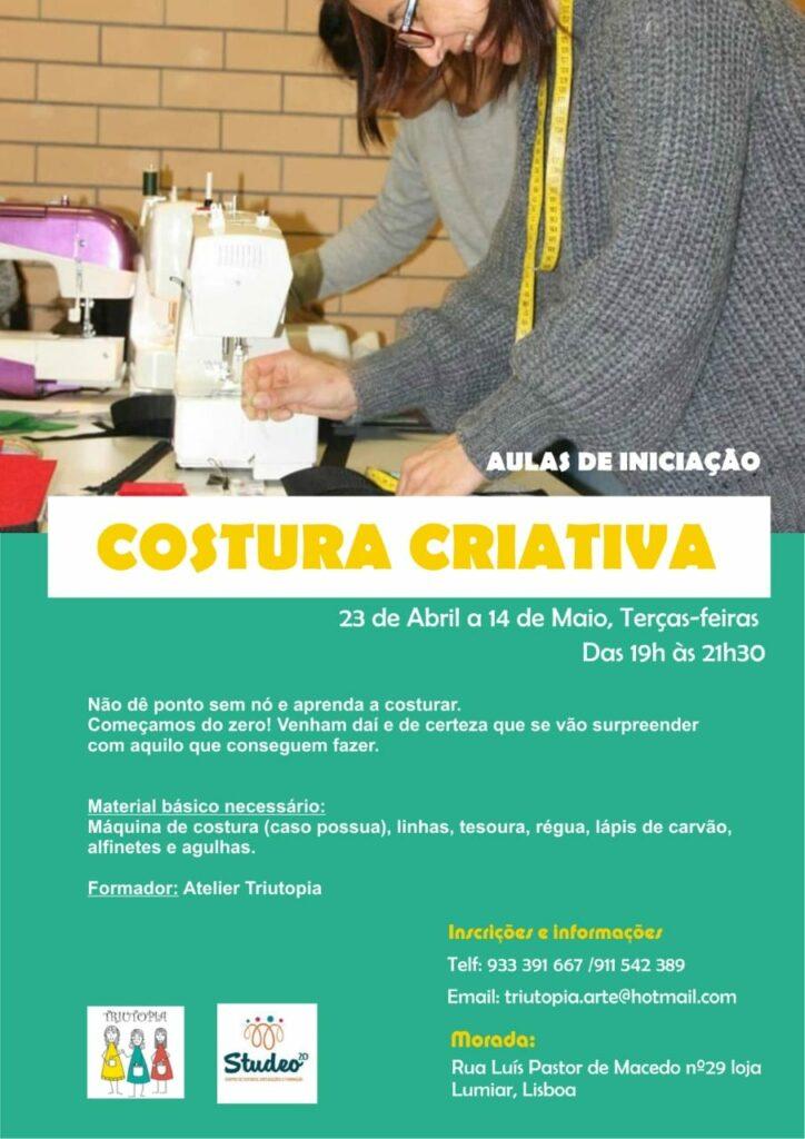 Costura Criativa – Iniciação
