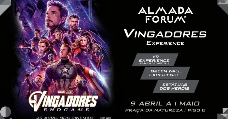 Vingadores Experience no Almada Forum
