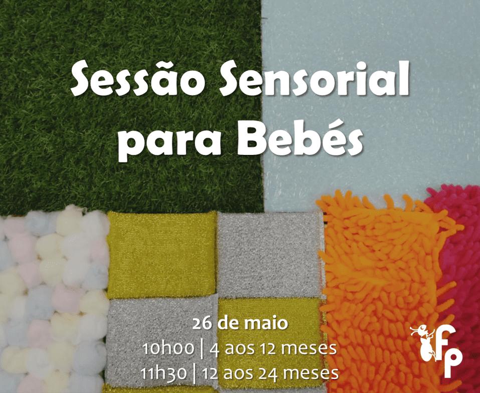 Sessão Sensorial para Bebés