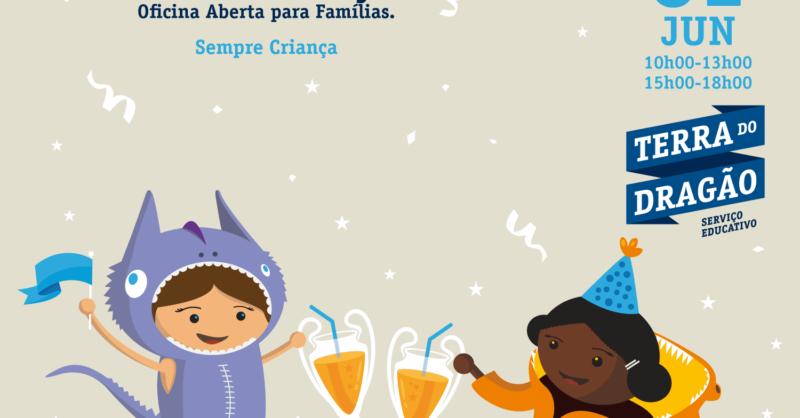 """""""Sempre Criança"""" – Oficina Aberta para Famílias"""