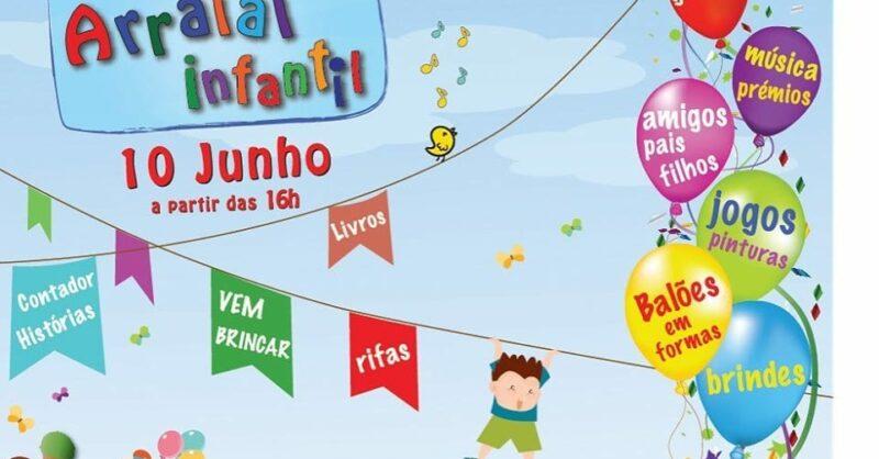 Arraial Infantil da Vila Aberta!