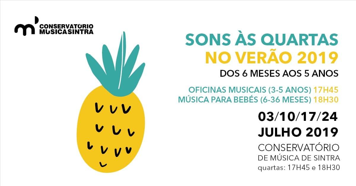 Sons às Quartas – Oficinas musicais