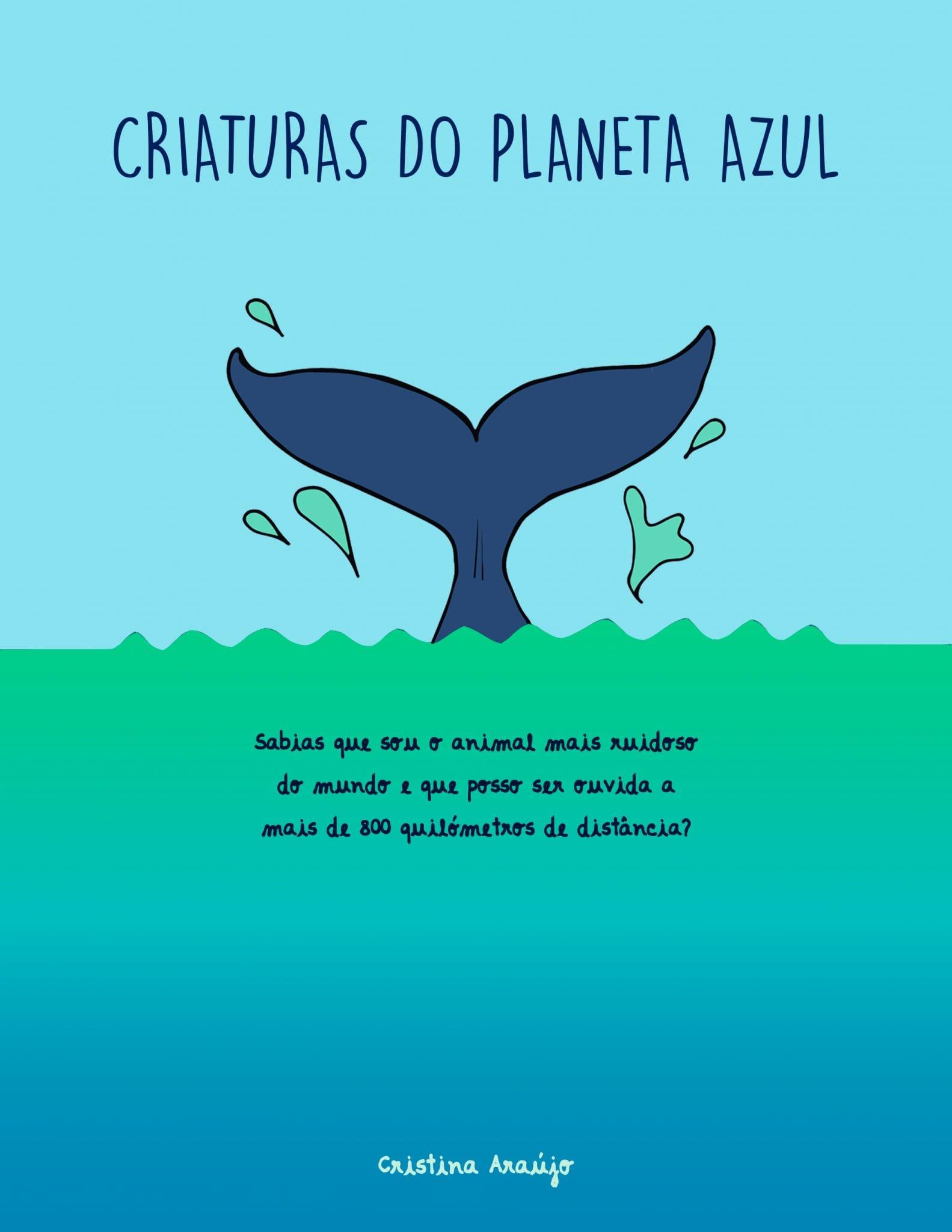 Capa_Criaturas do Planeta Azul_Cristina Araújo