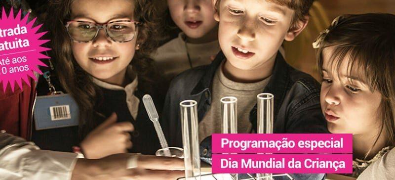 Dia da Criança no Pavilhão do Conhecimento com Entrada Gratuita!