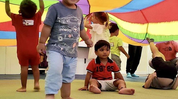 Aula Play & Learn no Gymboree Restelo para Escolas!