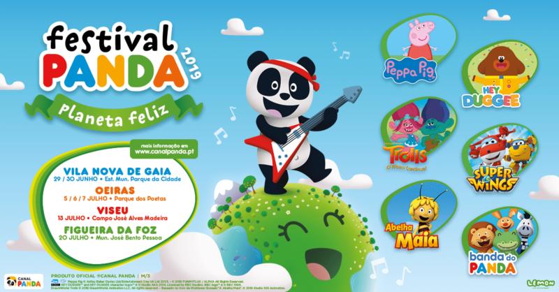 """Última data do Festival Panda 2019: Os """"Super Wings"""" estão a chegar à Figueira da Foz"""
