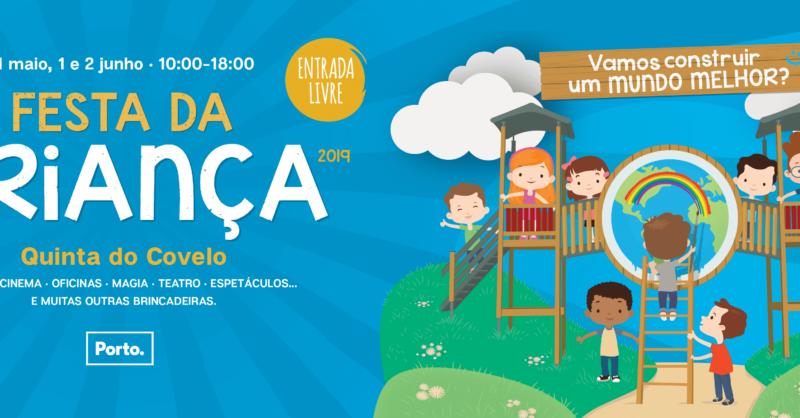 A maior festa infantil da cidade do Porto está de volta!