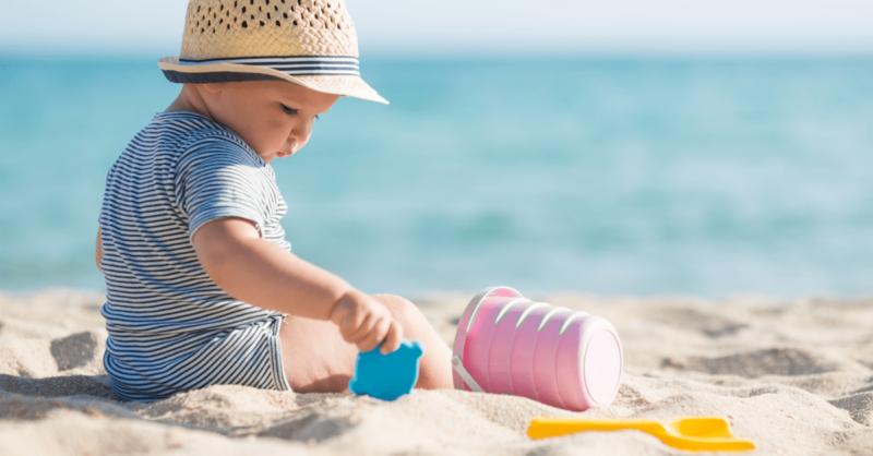cuidados com bebe no calor