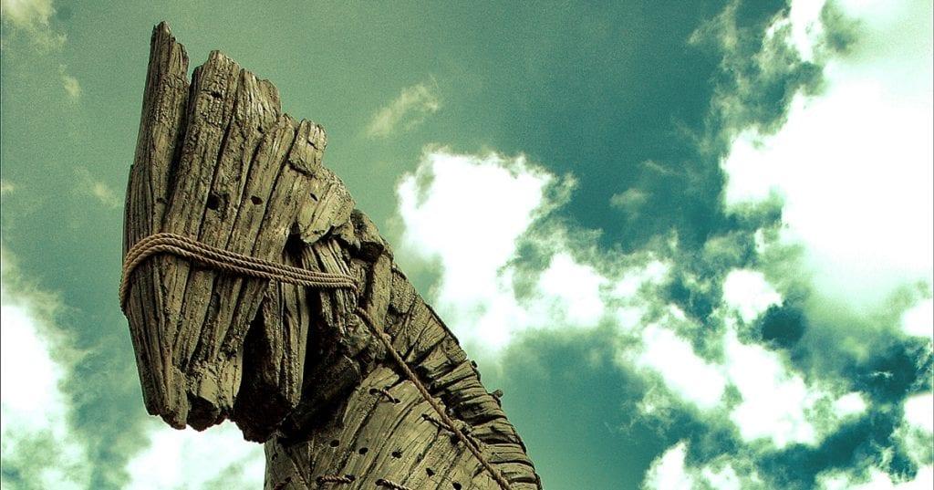 Cavalo de Troia contado pelos romanos