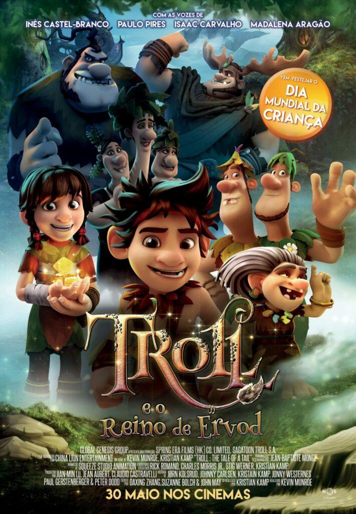 Poster Troll e o Reino de Ervod - Poster