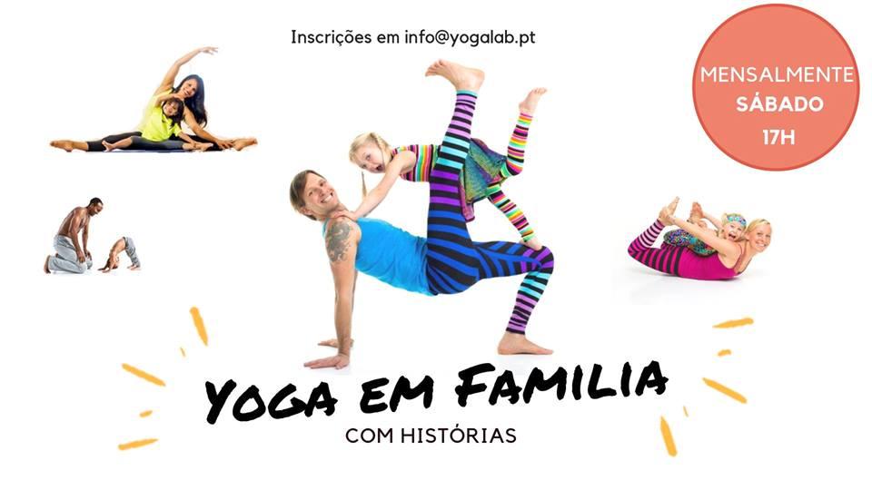 Yoga em Família com histórias
